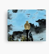 THE OMINIOUS Canvas Print