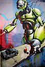 Street Art  Greece 1 by photosbyflood
