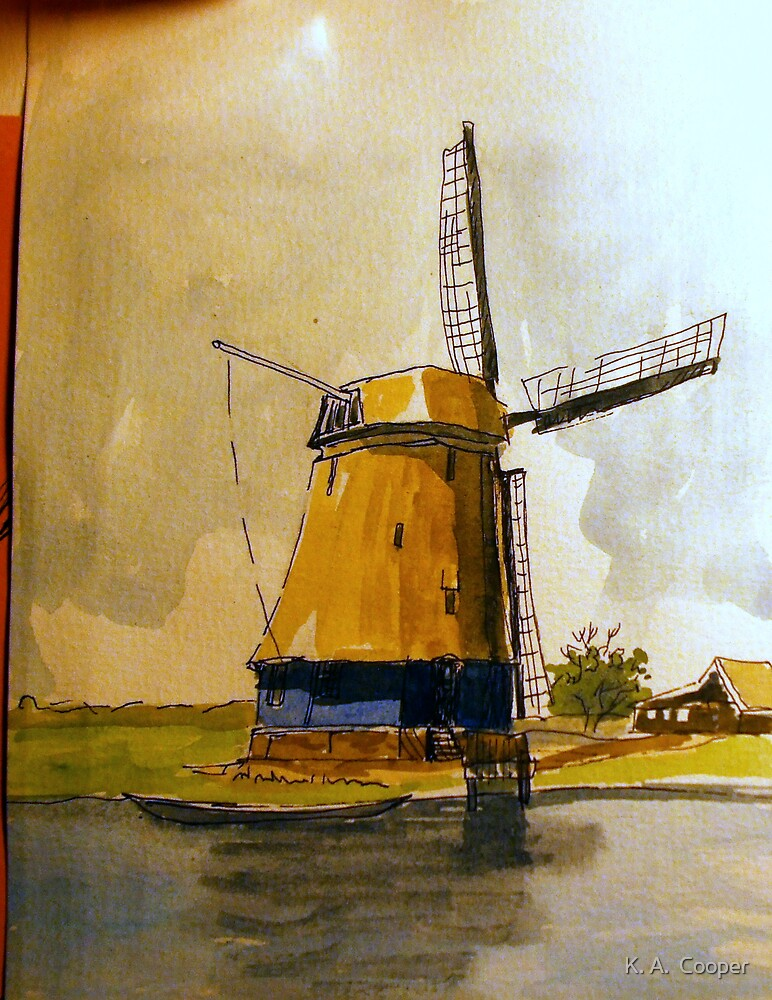Windmill 2 by K. A.  Cooper