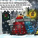 The Dalek Carol Singers by ToneCartoons