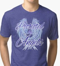 Protected by Angels Tri-blend T-Shirt