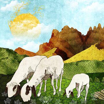 Mountain goats1 by Design4uStudio