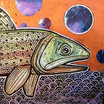 Traveling Trout II by LynnetteShelley