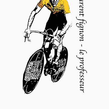 Le Tour: Laurent Fignon by citycycling