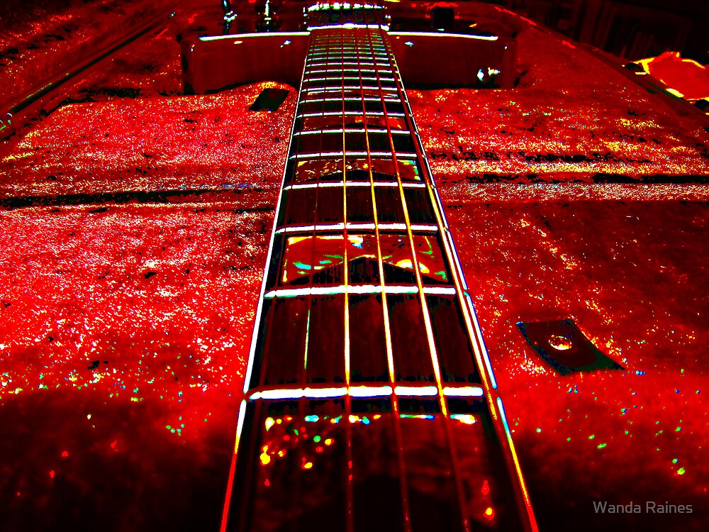 1977 Electra  X710  Guitar  (Outlaw) by Wanda Raines