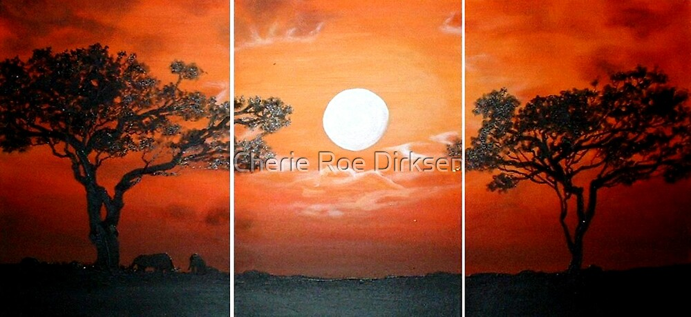 African Skies by Cherie Roe Dirksen