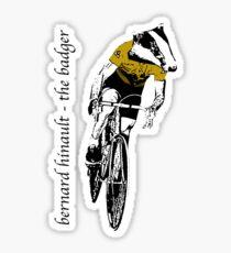 Le Tour: Bernard Hinault Sticker