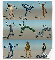 Robot Screen Test Poster
