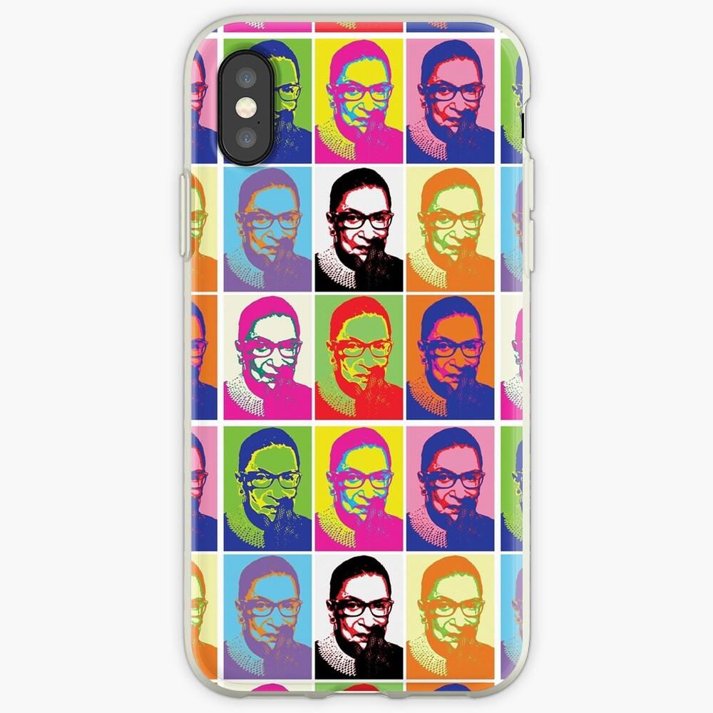 Notorious RBG - Pop Art Blast iPhone Case & Cover