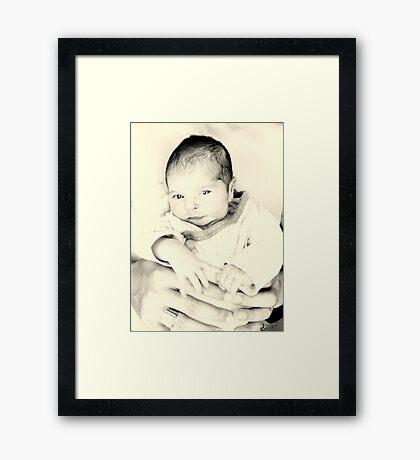NATALIA Framed Print