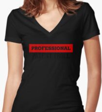 Professional Patent Troll Shirt Funny Patent Troll Shirt Women's Fitted V-Neck T-Shirt
