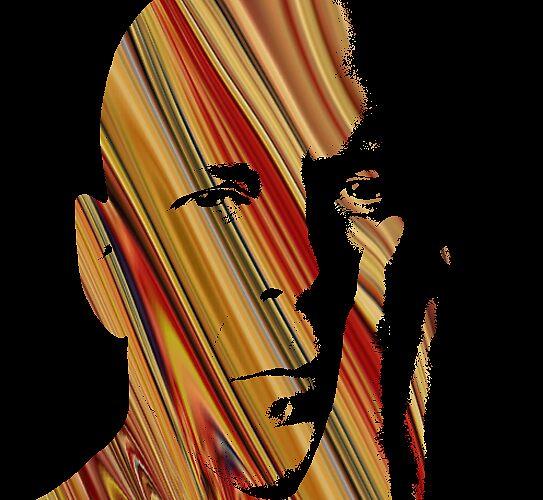 Bruce Willis by Derek Mercey