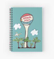 Pensacola Beach Spiral Notebook