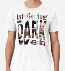 Intellektuelle dunkle Web-Gesichter Premium T-Shirt