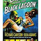 Kreatur aus der Black Lagoon (1954) Remastered USA Poster von Candywrap Design