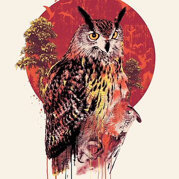 Owl Red by rizapeker