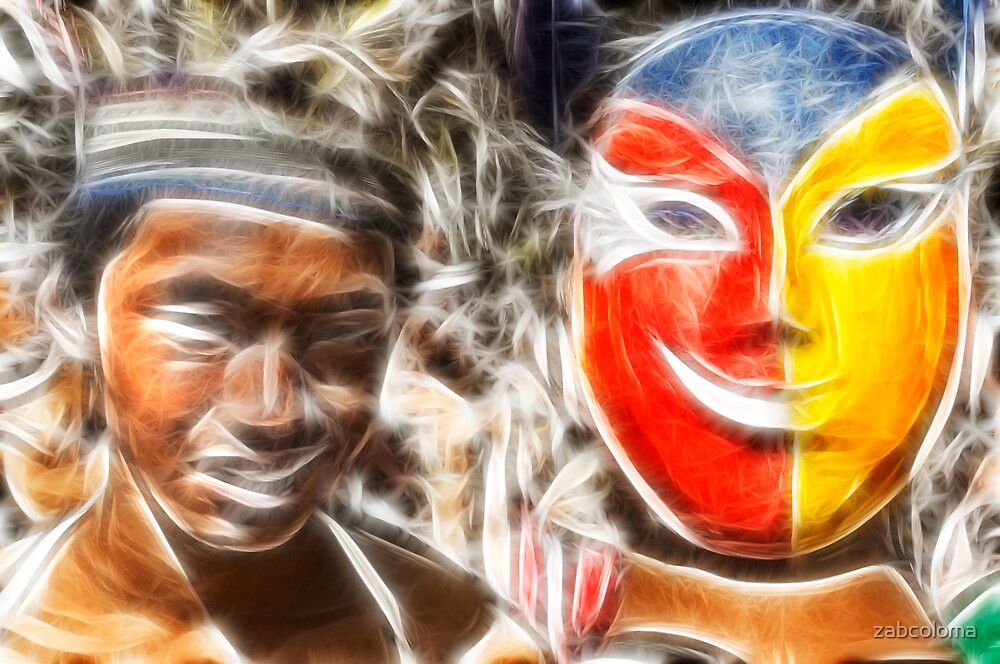 Two Faces by zabcoloma