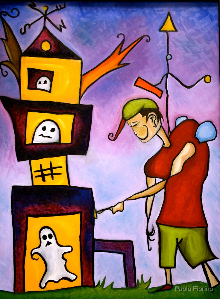 """""""Ghosts Playing With Toys"""" by Paolo Fiorino"""