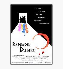 Reservoir-Daleks Photographic Print