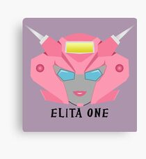 Elita One Canvas Print
