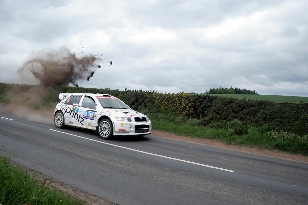 Jim Clark Rally 09 by Tasha  Blackmore