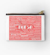 Nurse Adjectives Studio Pouch
