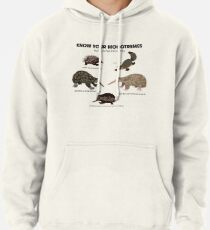 Know Your Monotremes Pullover Hoodie
