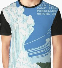 Vintage Yellowstone National Park Travel Graphic T-Shirt