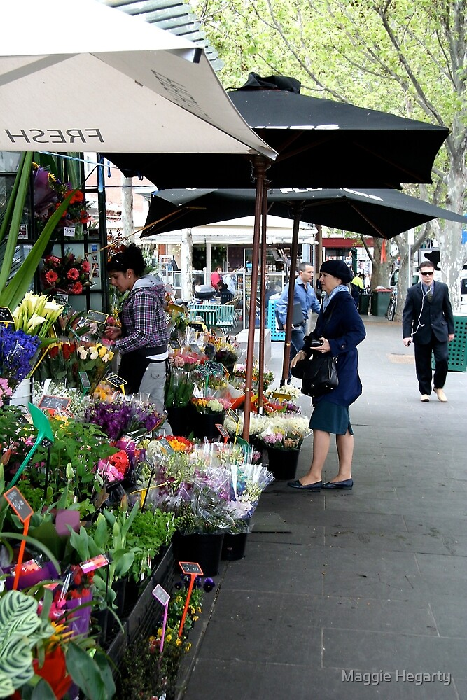 City Florist, Melbourne by Maggie Hegarty