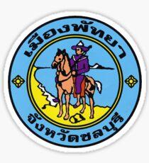 Seal of Pattaya, Thailand Sticker