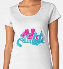 Squish that Cat! Women's Premium T-Shirt