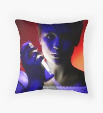 Projection (performance photography) Throw Pillow