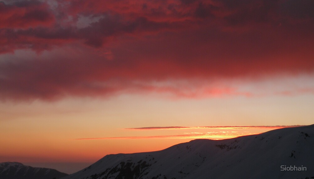 Fire in the Andes 15 by Siobhain