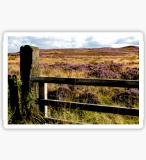Yorkshire Moors Sticker