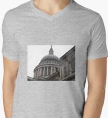 ST, PAULS CATHEDRAL Men's V-Neck T-Shirt