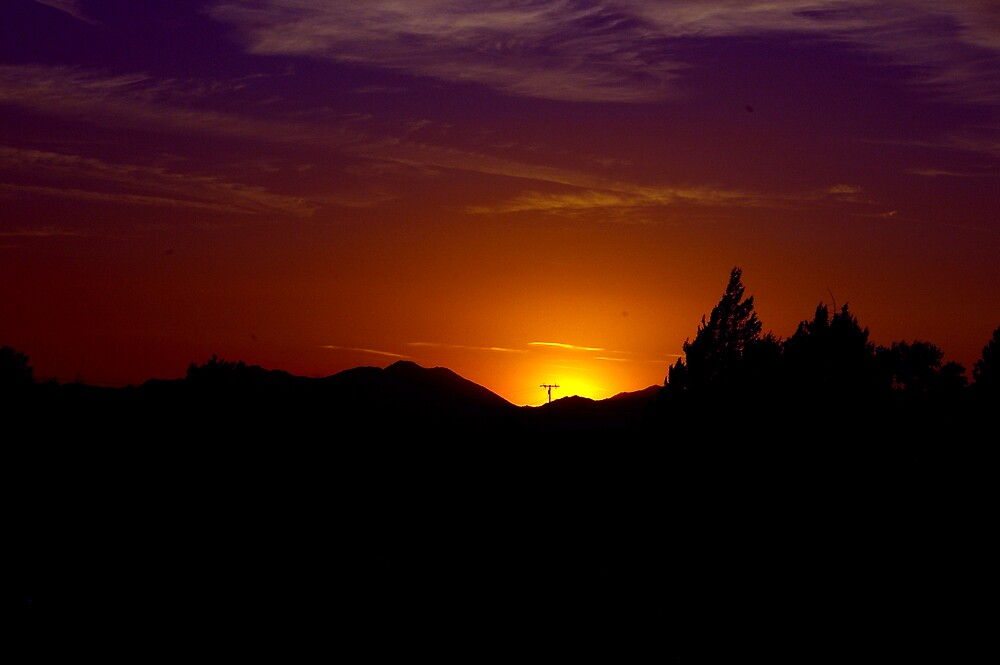 Another Sunset..in Orange by JustSaul