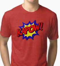 Kapow-Comic Tri-blend T-Shirt