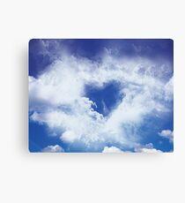 Love in the sky Leinwanddruck