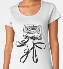 Cassette Boy Women's Premium T-Shirt