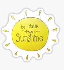 sunshine tumblr sticker Sticker