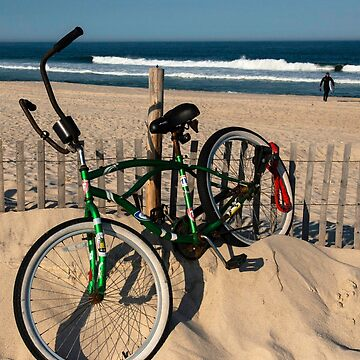 Bike at the Jersey Shore. by fparisi753