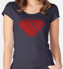 Raza SuperEmpowered (Red) Fitted Scoop T-Shirt