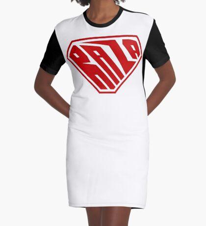 Raza SuperEmpowered (Red) Graphic T-Shirt Dress