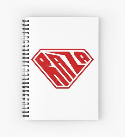 Raza SuperEmpowered (Red) Spiral Notebook