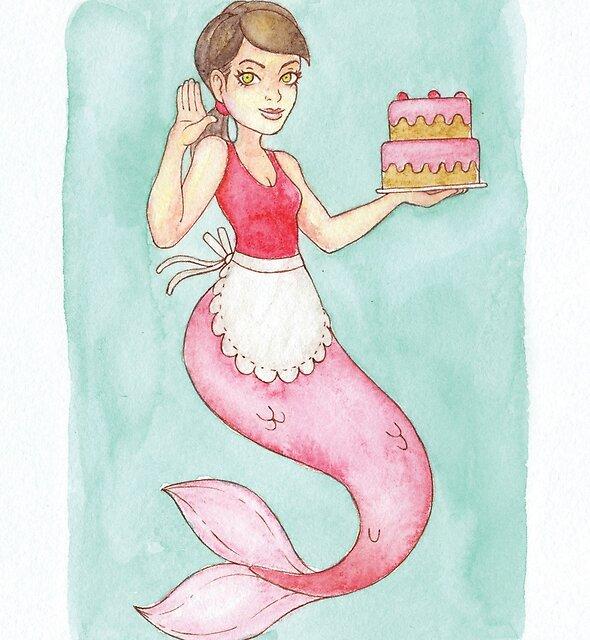 MerMay 2018: May 22nd - Sweet Mermaid by dreampigment