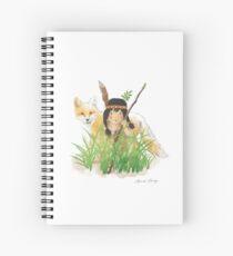 Catori Stalks Like a Fox Spiral Notebook