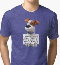 The secret life of pets Max Tri-blend T-Shirt