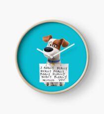 The secret life of pets Max Clock