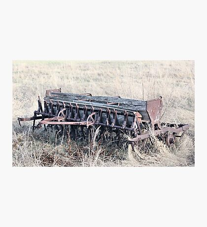 Antique Grain Seeder 1925 - 1926 JD VAN BRUNDT Photographic Print