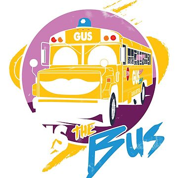 Gus the Safety Bus by FMBDesigns
